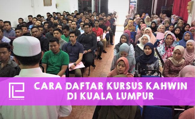 Cara Daftar Kursus Kahwin di Kuala Lumpur
