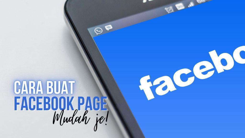 Cara Buat Facebook Page