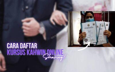 Cara Daftar Kursus Kahwin Online Waktu PKP